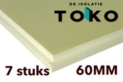 60mm XPS Isolatieplaten pakket